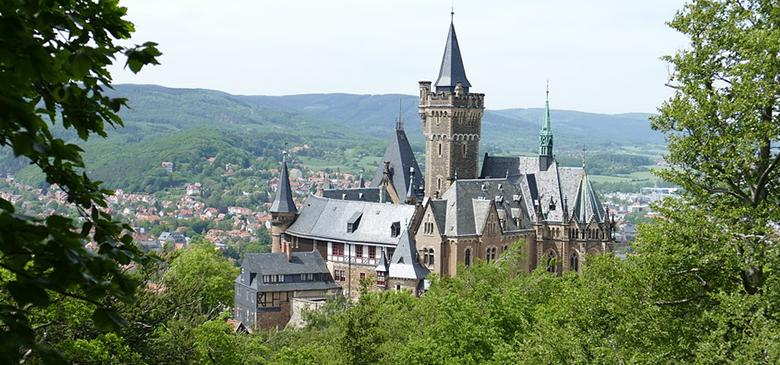 Wernigerode, the colorful city in the Harz